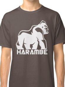 Harambe White Classic T-Shirt