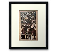 Coldplay - Silence Framed Print