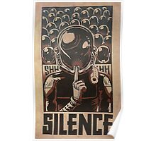 Coldplay - Silence Poster