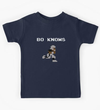 Bo Knows - Tecmo Bowl (NES) Kids Tee