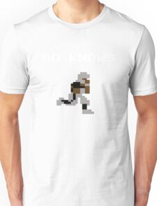 Bo Knows - Tecmo Bowl (NES) Unisex T-Shirt