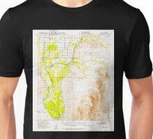 USGS TOPO Map Arizona AZ Cibola 314482 1951 62500 Unisex T-Shirt