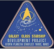 Star Trek Utopia Planetia Photographic Print