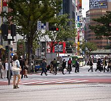Shibuya Crossing by Alexandra Vaughan Photography & Design