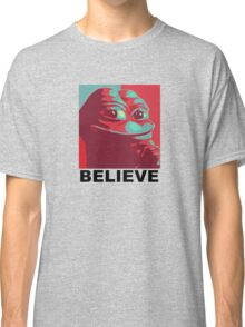 Pepe the Frog - Believe Classic T-Shirt