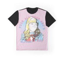 Alphabet Boy Graphic T-Shirt
