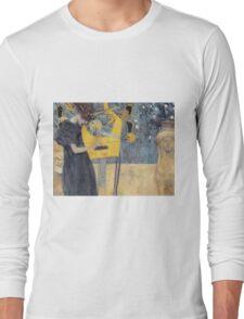 Gustav Klimt - Music 1 1895 Long Sleeve T-Shirt