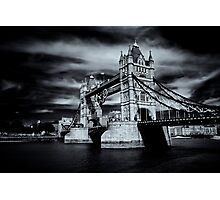 Two Towers, Five Rings Photographic Print