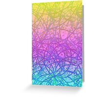 Grunge Art Abstract Greeting Card