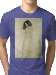 Gustav Klimt - Portrait Of A Young Woman  Tri-blend T-Shirt