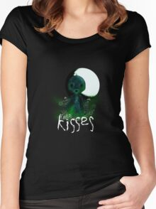 Free Kisses Women's Fitted Scoop T-Shirt