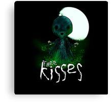 Free Kisses Canvas Print