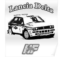 Lancia Delta Hf Poster
