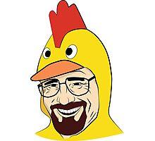 Chicken Walter Photographic Print