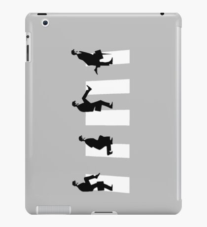 Ministry of silly walks/abbey road iPad Case/Skin