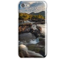 Coladoir River, early morning. Isle of Mull. Scotland. iPhone Case/Skin