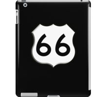 ROUTE 66, Get your Kicks on Route 66, US 66, USA, America, Will Rogers Memorial Highway iPad Case/Skin