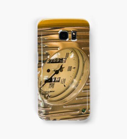 Chrome Auto Dashboard and Gauges Samsung Galaxy Case/Skin