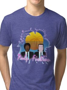 80s Inspired Pulp Fiction Tri-blend T-Shirt