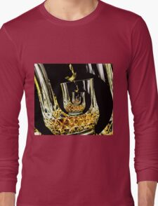 Never ending glass of whiskey Long Sleeve T-Shirt