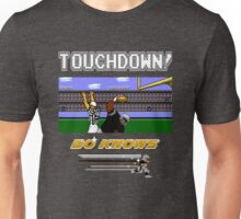 Bo Knows *DELUXE* - Tecmo Bowl (NES) Unisex T-Shirt