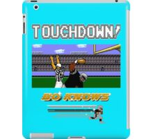 Bo Knows *DELUXE* - Tecmo Bowl (NES) iPad Case/Skin