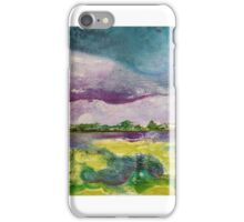 Abstracted and inspired by Sedge Fen Flax iPhone Case/Skin