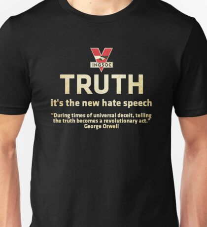 1984 Orwell Truth Unisex T-Shirt