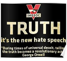 1984 Orwell Truth Poster