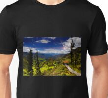 View Of Giron Valley From Portete II Unisex T-Shirt
