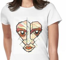 View Through the Veil Womens Fitted T-Shirt