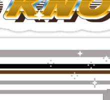 #BoKnows Star Power - Tecmo Bowl (NES) Sticker