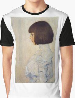 Gustav Klimt - Portrait Of Helene Klimt Graphic T-Shirt
