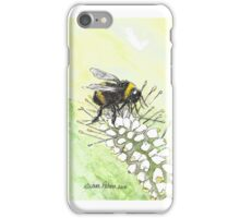 Happy Bumble Bee iPhone Case/Skin