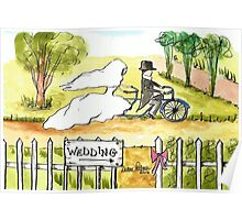 Bicycle Wedding Poster