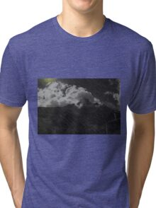 Stormy Weather At Lago De Busa Tri-blend T-Shirt