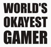 World's Okayest Gamer Kids Tee