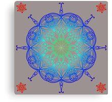 Colorful Mandala Canvas Print