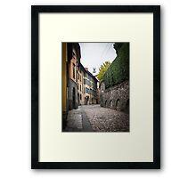 Street of Bergamo Framed Print
