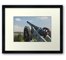 An old cannon Framed Print