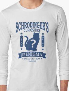 Schrodinger's Cat - Quantum Mechanics Paradox Geek Long Sleeve T-Shirt