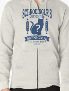Schrodinger's Cat - Quantum Mechanics Paradox Geek Zipped Hoodie