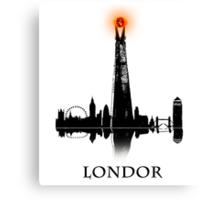 LONDOR - T Shirt Canvas Print