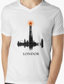LONDOR - T Shirt Mens V-Neck T-Shirt