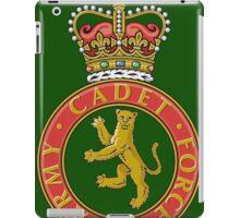 Army cadets iPad Case/Skin