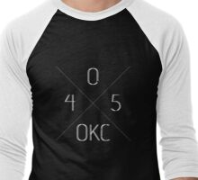 405 OKC Men's Baseball ¾ T-Shirt