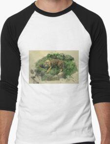 Tiger Territory  Men's Baseball ¾ T-Shirt