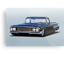 1960 Chevrolet Custom El Camino Metal Print