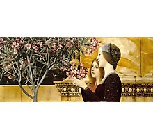 Gustav Klimt - Two Girls With Oleander  Photographic Print