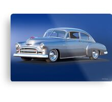 1950 Chevrolet Fleetline Deluxe Sedan Metal Print